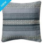 Ocean Stripe Dhurrie Cushion Cover