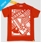 All Riot 'Disobey' Political T-Shirt - Red