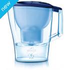 Brita Aluna Water Filter Jug - Cool Frosted Blue - 1.4L