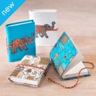 Elephant Notebook - Set of 2 - White