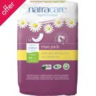 Natracare Organic Cotton Maxi Pads - Regular - Pack of 14
