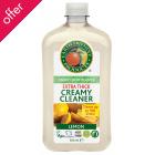 Earth Friendly Lemon Creamy Cleanser - 500ml