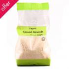 Suma Prepacks Organic Ground Almonds - 250g