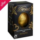 Divine Dark Chocolate Shell Easter Egg 55g