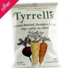 Tyrrells Mixed Root Vegetable Chips 40g