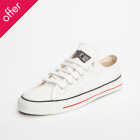 Ethletic Fairtrade Trainers - White