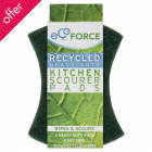 EcoForce Recycled Scourers - Heavy Duty - Pack of 3