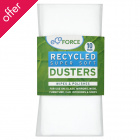 EcoForce Recycled Dusters - Pack of 10