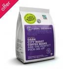 Equal Exchange Organic Whole Beans Dark Roast Coffee- 1kg