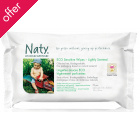 Naty by Nature Babycare ECO Lightly Scented Wipes - Pack of 70
