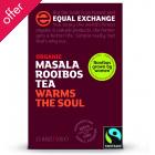 Equal Exchange Fairtrade & Organic Masala Rooibos Tea - 25 Bags