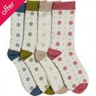 Braintree Bamboo Daisy Socks