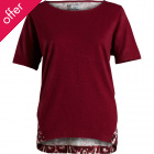 Komodo Brocade Back Hemp Dash Top