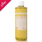 Dr Bronner Organic Liquid Castile Soap - Citrus - 473ml