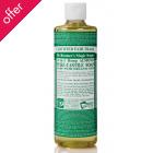 Dr Bronner Organic Liquid Castile Soap - Almond - 473ml