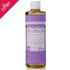 Dr Bronner Organic Liquid Castile Soap - Lavender - 473ml