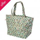 Recycled Rambling Rose Large Shopping Bag