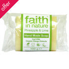 Faith in Nature Soap - Pineapple & Lime - 100g