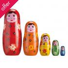 Traidcraft Nesting Dolls