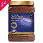 Traidcraft Fairtrade Medium Roast Instant Coffee - 450g