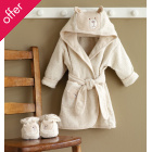 Natures Purest Bear Bathrobe and Slippers