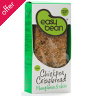 Easy Bean Chickpea Crispbread - Mung Bean & Chive - 110g