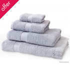 Natural Collection Organic Cotton Shower Towel - Moonstone