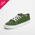 Ethletic Fairtrade Skater Shoes - Forest Green