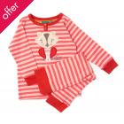 Autumn Cat Applique Pyjamas