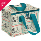 Bicycle Rider's Design Recycled Lunch Bag