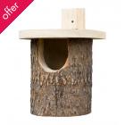 Natural Log Robin Box