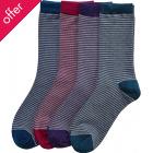 Braintree Bamboo Dahlie Striped Socks