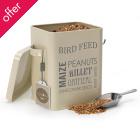 Bird Feed Tin - Jersey Cream
