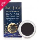 Pacifica Smolder Eye Lining Gel Midnight - 2g