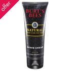 Burts Bees Men's Shave Cream - 175ml