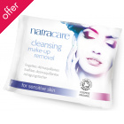 Natracare Organic Cleansing Make-up Removal Wipes