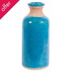 Blue Crackle Glaze Amari Vase
