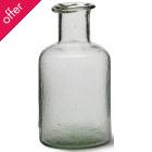 Recycled Glass Bottle - Medium