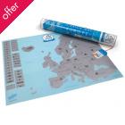 Scratch Map - Europe