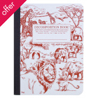 Decomposition Ruled Notebook - African Safari