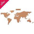 Corkboard Map