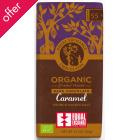 Equal Exchange Organic Caramel Crunch With Sea Salt Dark Chocolate - 100g