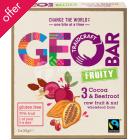 Geobar Gluten Free Fruity Cocoa & Beetroot Bar 33g  - Box of 4