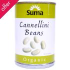 Suma Organic Cannellini Beans - 400g