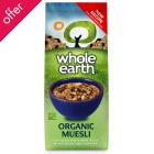Whole Earth Organic Muesli - 750g