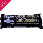 Organica Golden Coconut Dark Choc Bar - 40g