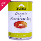 Suma Organic Minestrone Soup - 400g