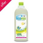 Ecover Washing Up Liquid - Lemon - 1 litre