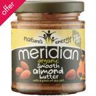 Meridian Organic Almond Butter - 170g