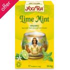 Yogi Organic Lime Mint Tea - 17 Bags